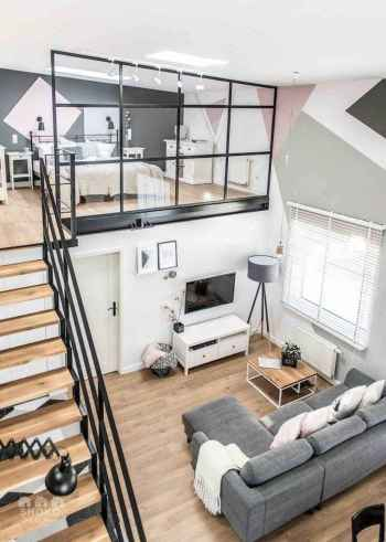 65 best studio apartment decorating ideas (58)
