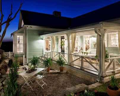 Farmhouse Porch Railings With Black