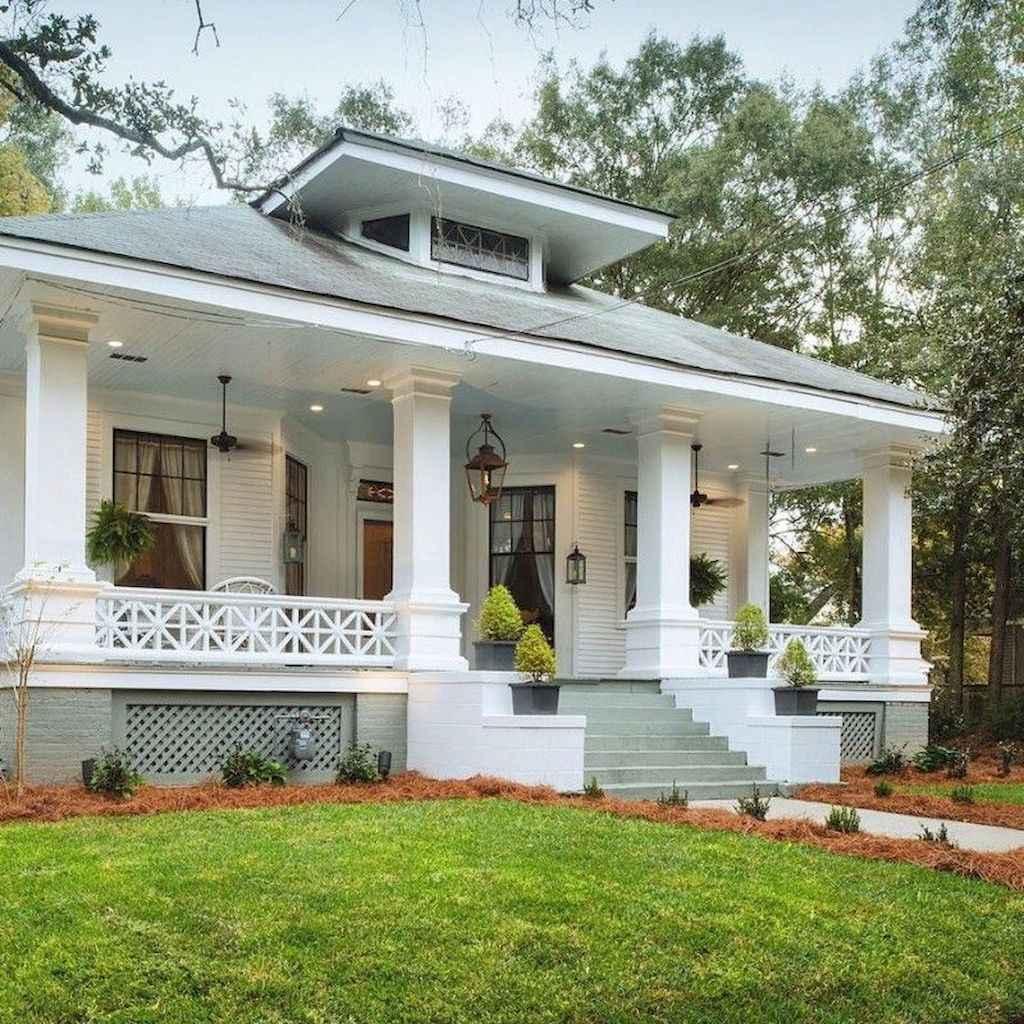65 stunning farmhouse porch railing decor ideas (42)