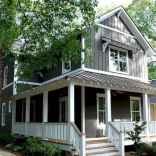 65 stunning farmhouse porch railing decor ideas (61)