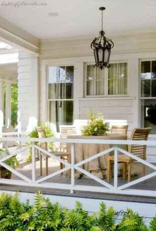 65 Stunning Farmhouse Porch Railing Decor Ideas 8