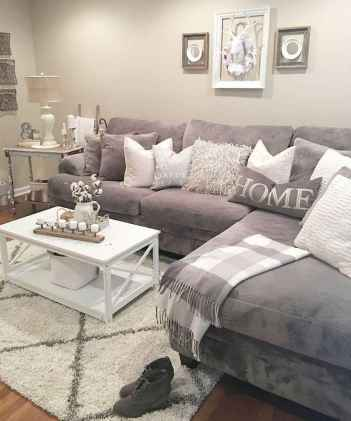 66 best farmhouse living room remodel ideas (32)