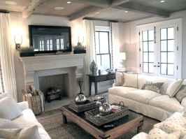 66 best farmhouse living room remodel ideas (40)