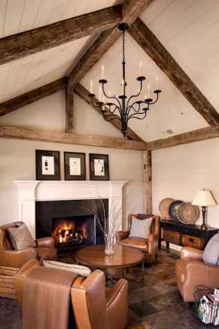 66 best farmhouse living room remodel ideas (53)