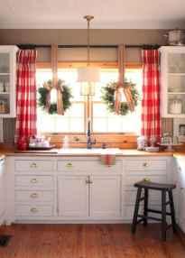 70 pretty farmhouse kitchen curtains decor ideas (33)