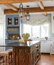 70 pretty farmhouse kitchen curtains decor ideas (36)