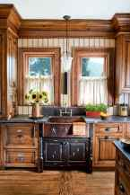 70 pretty farmhouse kitchen curtains decor ideas (40)