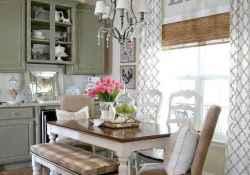 70 pretty farmhouse kitchen curtains decor ideas (66)