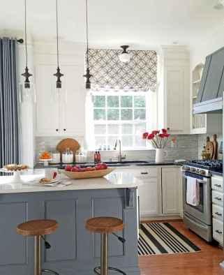 70 pretty farmhouse kitchen curtains decor ideas (67)