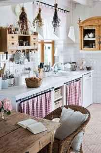 70 pretty farmhouse kitchen curtains decor ideas (69)