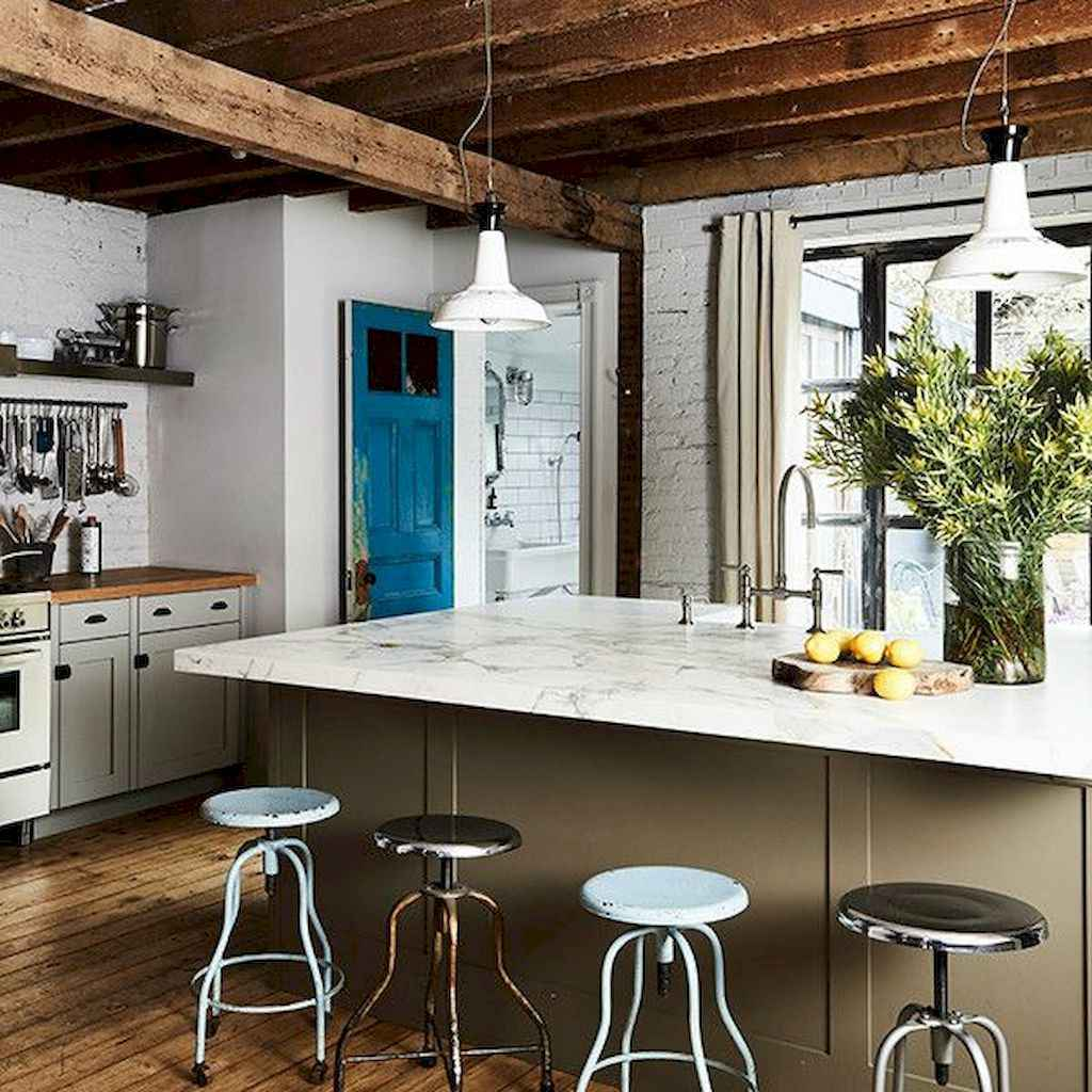 77 best rustic renovations ideas for farmhouse style (41)