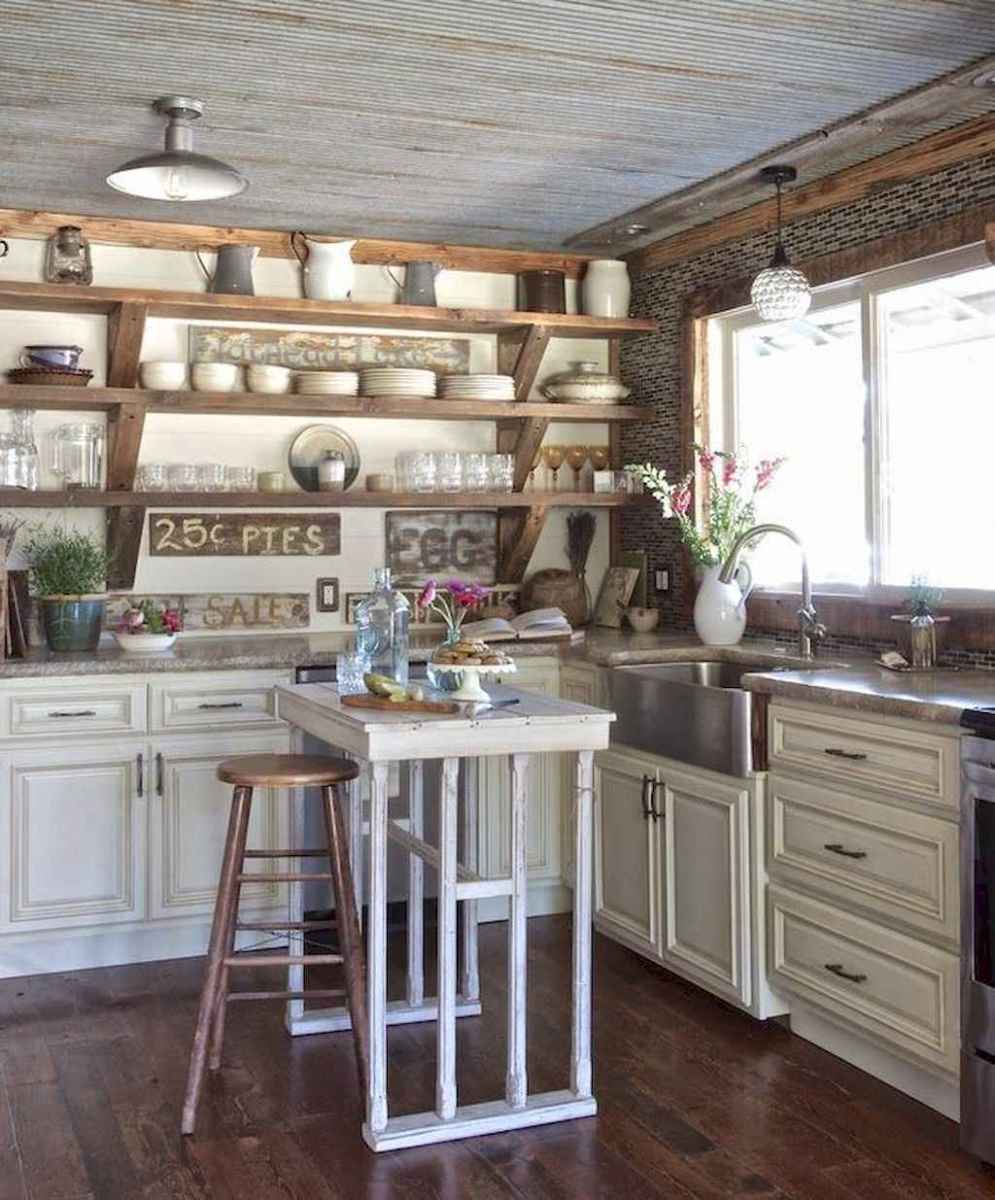 77 best rustic renovations ideas for farmhouse style (72)
