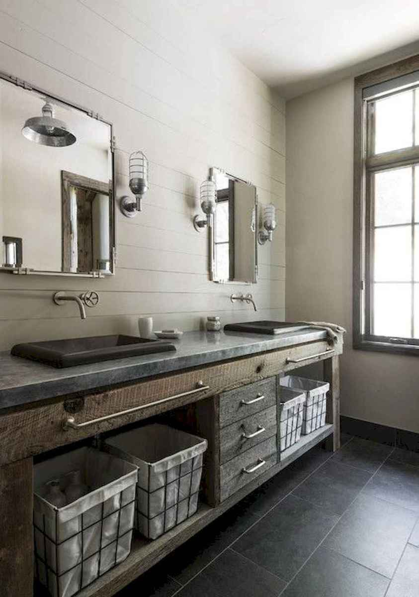 77 best rustic renovations ideas for farmhouse style (76)