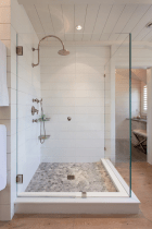 80 best farmhouse tile shower ideas remodel (11)