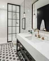80 best farmhouse tile shower ideas remodel (73)