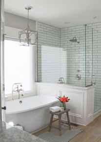 80 best farmhouse tile shower ideas remodel (77)