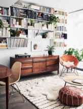 88 beautiful apartment living room decor ideas with boho style (114)