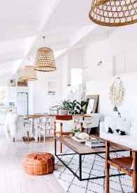 88 beautiful apartment living room decor ideas with boho style (122)