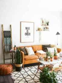 88 beautiful apartment living room decor ideas with boho style (124)