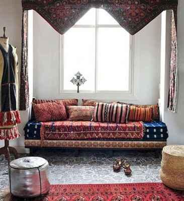 88 beautiful apartment living room decor ideas with boho style (143)