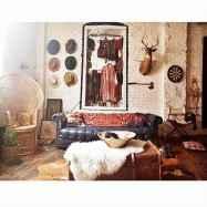 88 beautiful apartment living room decor ideas with boho style (150)