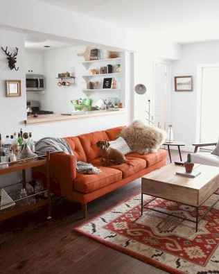 88 beautiful apartment living room decor ideas with boho style (166)