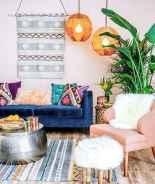 88 beautiful apartment living room decor ideas with boho style (170)