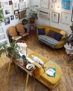 88 beautiful apartment living room decor ideas with boho style (96)