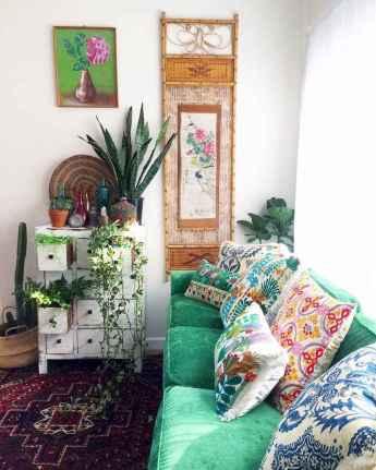 88 beautiful apartment living room decor ideas with boho style (97)