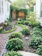 90 beautiful side yard garden decor ideas (21)