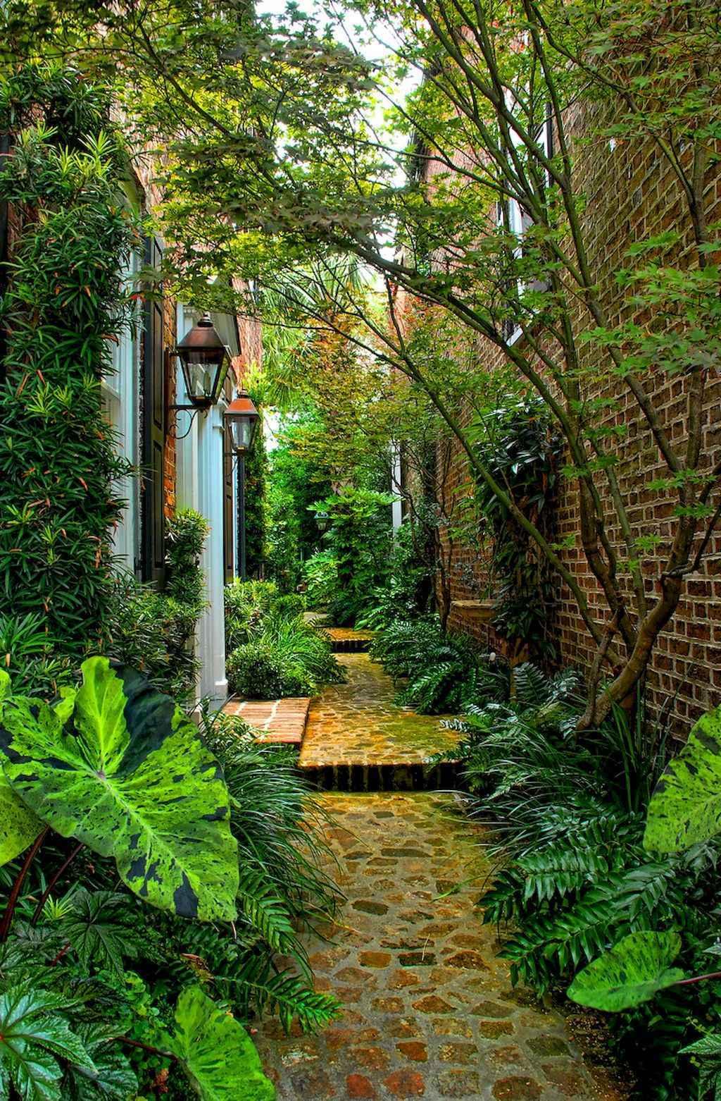 90 Beautiful Side Yard Garden Decor Ideas 28