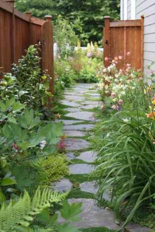 90 beautiful side yard garden decor ideas (44)