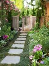 90 beautiful side yard garden decor ideas (60)