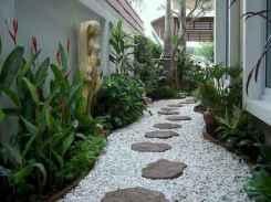 90 beautiful side yard garden decor ideas (75)