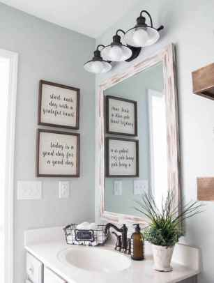 90 best lamp for farmhouse bathroom lighting ideas (12)