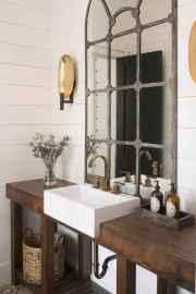 90 best lamp for farmhouse bathroom lighting ideas (18)