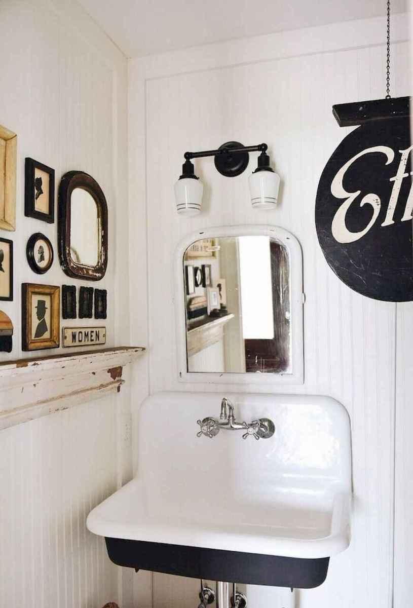90 best lamp for farmhouse bathroom lighting ideas (27)