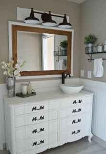 90 best lamp for farmhouse bathroom lighting ideas (44)