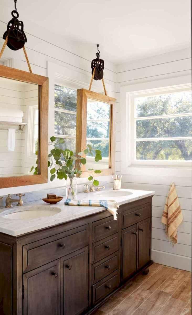 90 best lamp for farmhouse bathroom lighting ideas (45)
