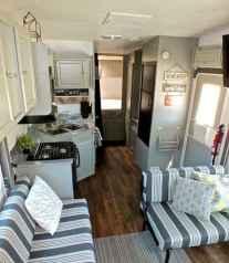 90 modern rv remodel travel trailers ideas (44)