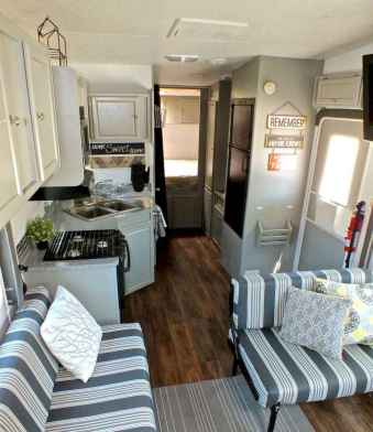 90 modern rv remodel travel trailers ideas (72)