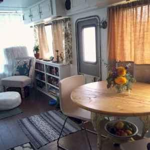 90 modern rv remodel travel trailers ideas (88)
