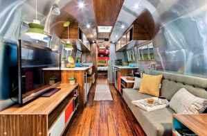 90 modern rv remodel travel trailers ideas (89)