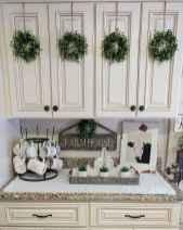 Best 100 white kitchen cabinets decor ideas for farmhouse style design (36)