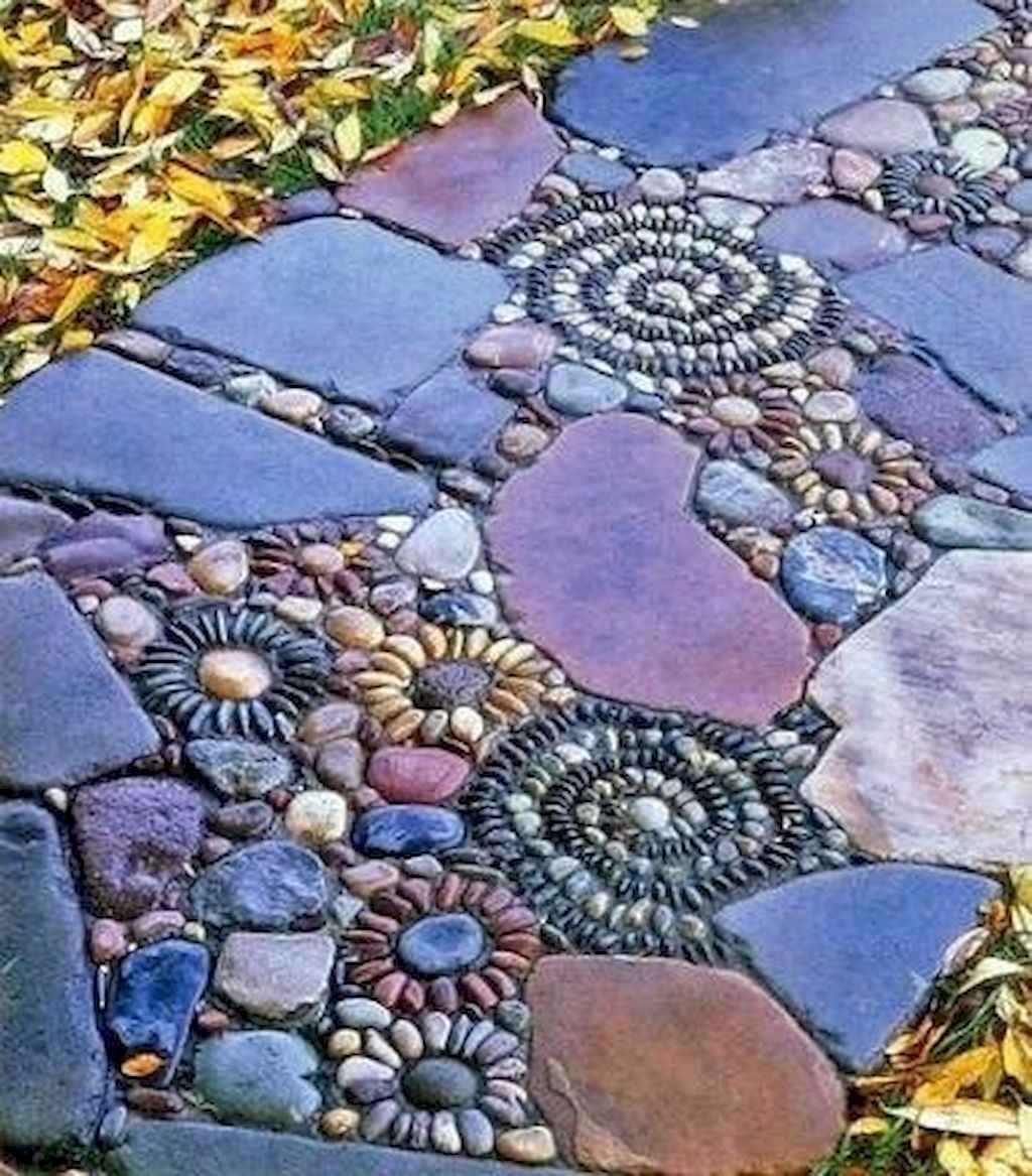 Top 100 stepping stones pathway remodel ideas (71)