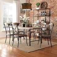100 best farmhouse dining room decor ideas (116)