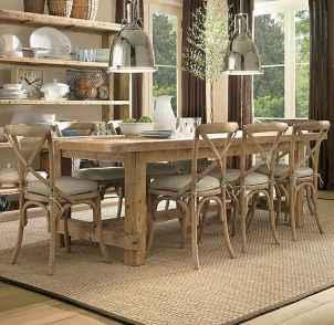 100 best farmhouse dining room decor ideas (162)