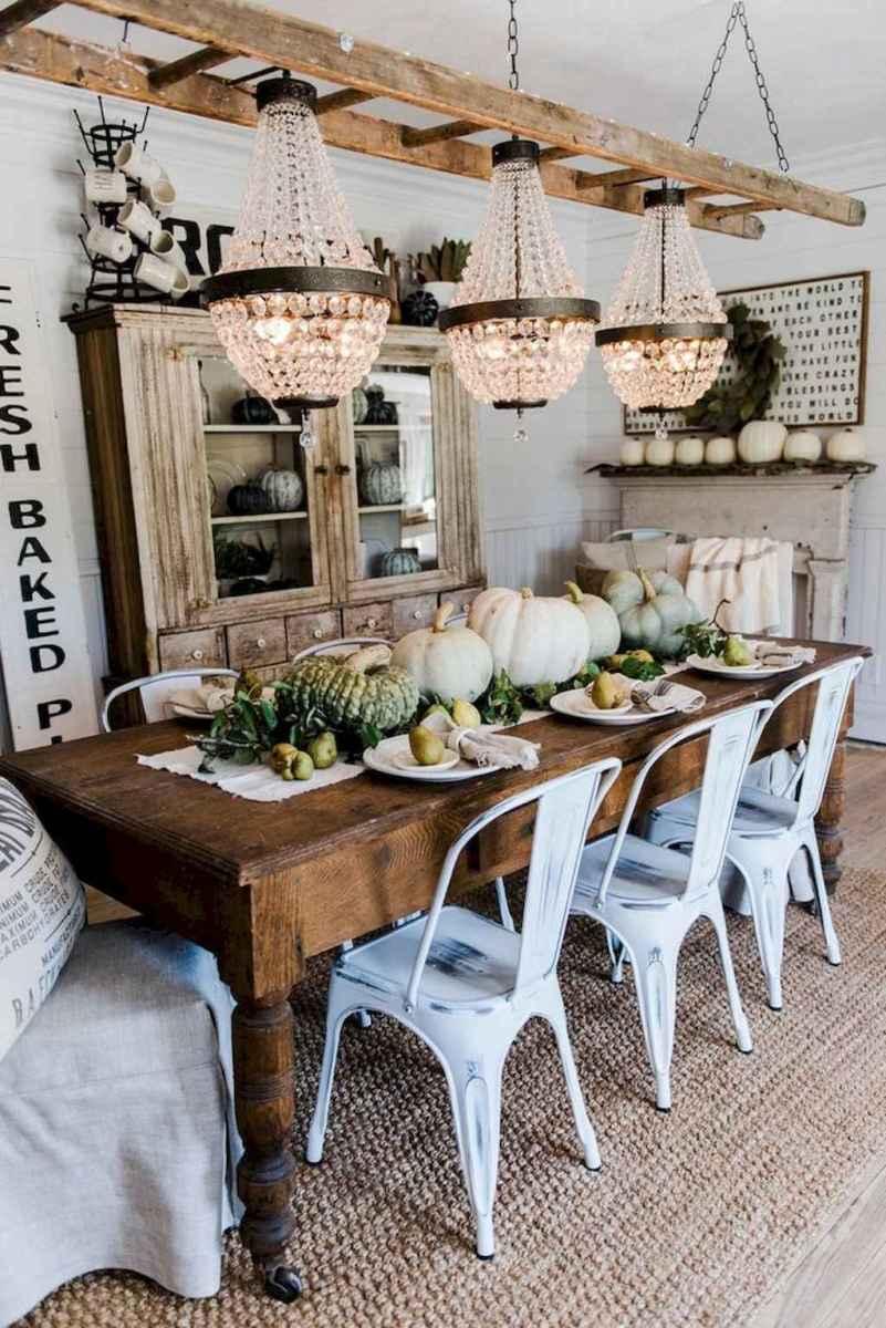 100 best farmhouse dining room decor ideas (196 ...