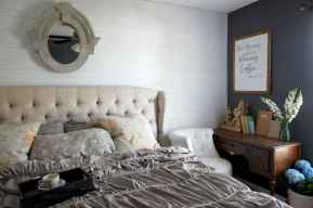 100 elegant farmhouse master bedroom decor ideas (60)