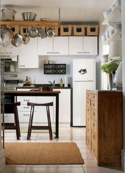 110 amazing farmhouse kitchen decor ideas (10)